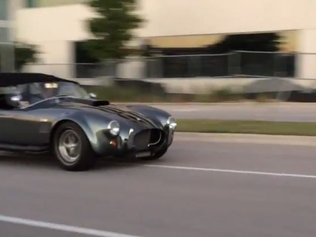 Driving, Stalling, And Roadside-Reviving A Shelby Cobra