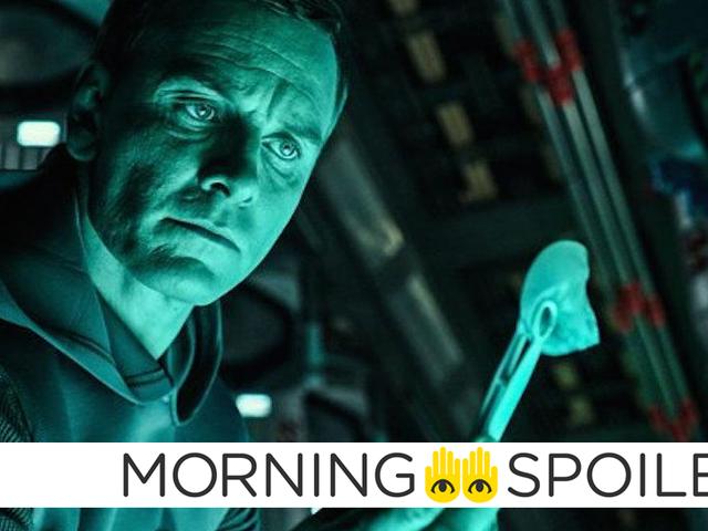 Ridley Scott erbjuder en annan uppdatering om hans främmande prequels