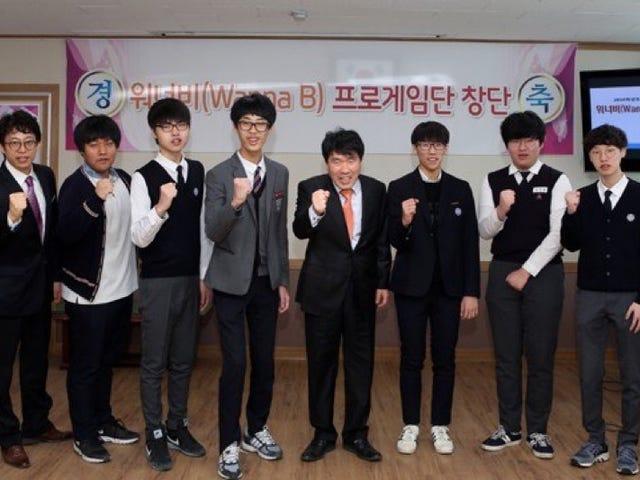 Temui Tim Esports Sekolah Menengah Atas Korea Selatan