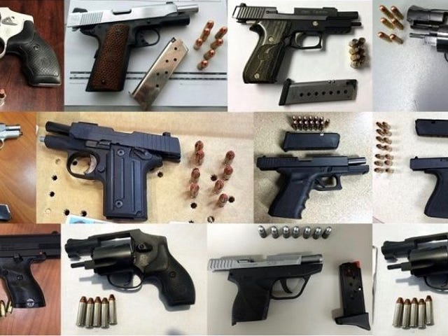 TSA Would Like To Remind You Not To Bring Your Loaded Guns To The Airport, Please