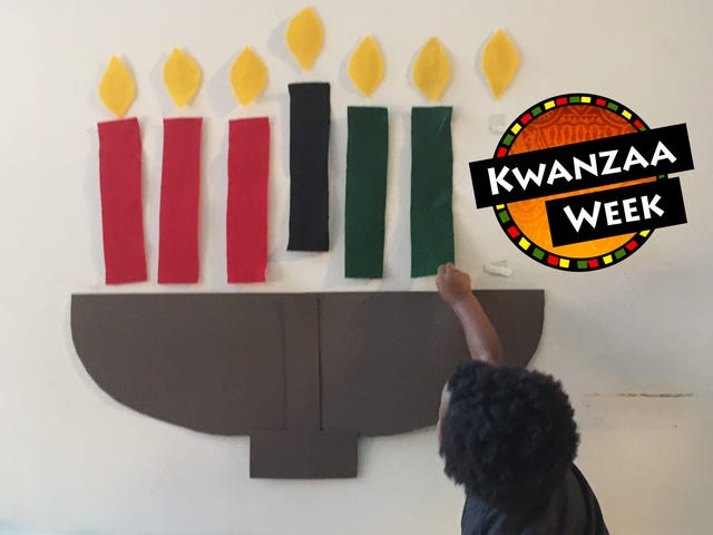 Why Kwanzaa Is Lit Like 7 Red, Black and Green Candles