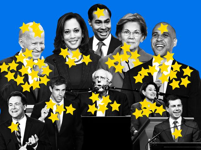 Aquí está la elección de cada congresista demócrata para el presidente hasta ahora