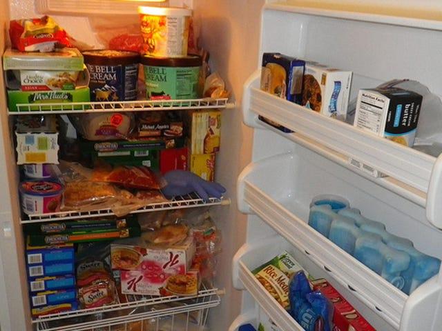 Säästä rahaa ja käytä ruokaa pakastimella Puhdista kuuden kuukauden välein