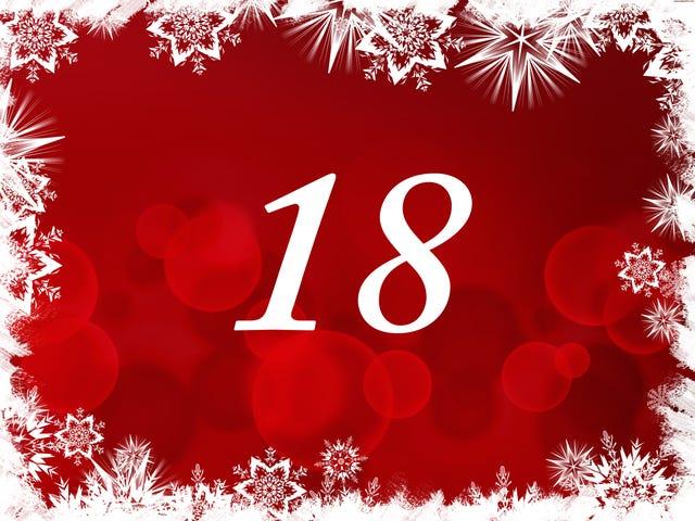 The TAY Advent Calendar: Day 18