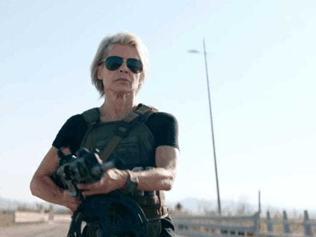 Which Absolute Buffoon Looked at Linda Hamilton and Decided She Needed 'Tits and Ass' in Her Terminator Costume?