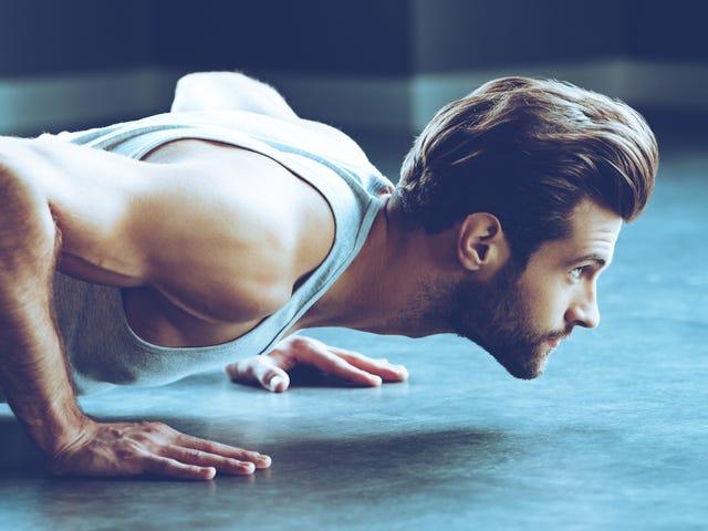 Pruebe estos ejercicios push-up para sus puntos de referencia de fin de año
