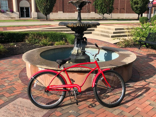 Keep Oppo Vintage Bicycle