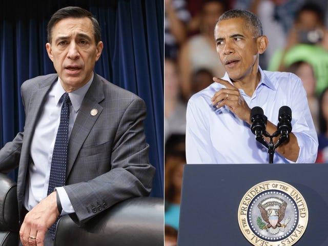 Det neste offeret til Obamas seniorår er Rep. Darrell Issa