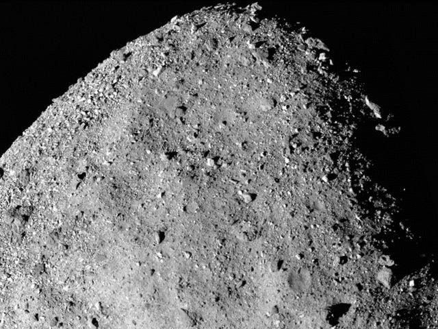 NASA Spacecraft Spots Signal of Water on Asteroid Bennu