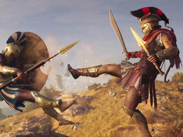 <i>Assassin's Creed Odyssey</i>ソードfrom E3 2018