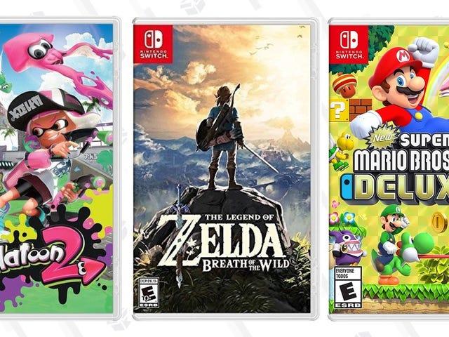 Tilføj tre vigtige switch-spil til dit bibliotek for $ 40- $ 45 hver