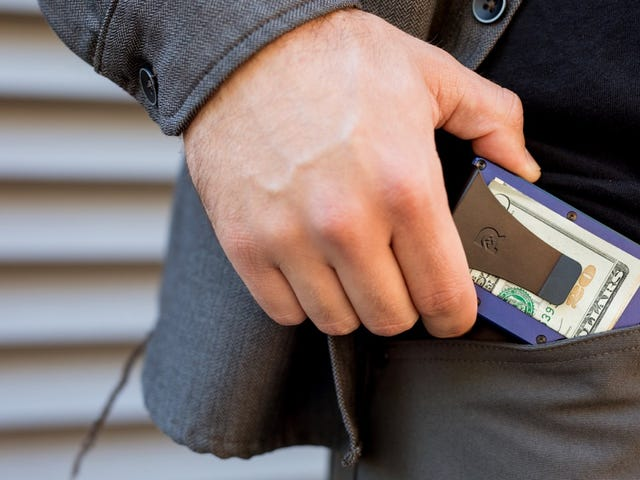 Get 15% Off These Sleek Minimalist Aluminum Wallets (From $55)
