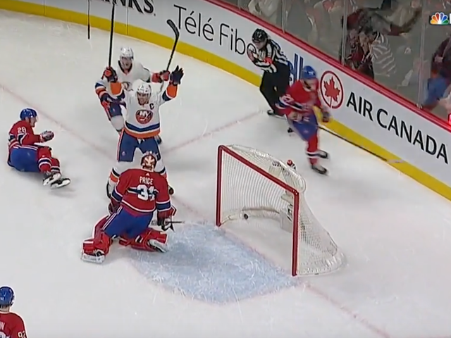 The Islanders Got Hilariously Outshot And Still Won