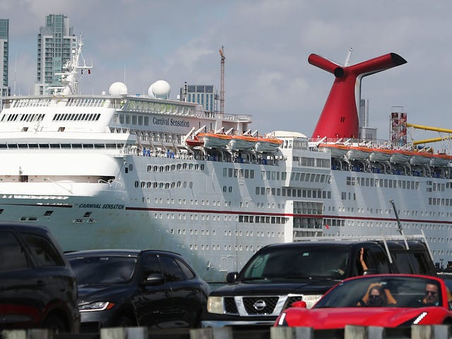 Carnival Cruise Ships Keep Dumping Plastic Crap Into the Ocean