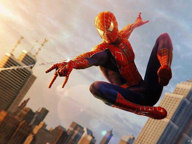 Kejutan: Suit 'Sam Raimi' Kini Ada Dalam Spider-Man PS4