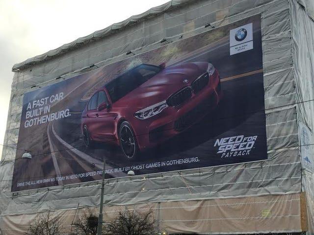 BMW Trolls Volvo's Hometown As Billboard Wars Begin Anew