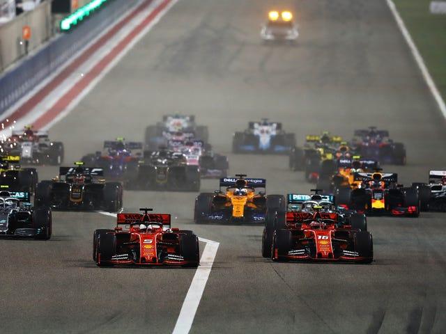 Bahrain Grand Prix đã thu hút khán giả Hoa Kỳ lớn thứ hai cho một cuộc đua F1
