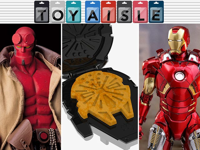 Hellboy, Waffle Makers, Overwatch Nerf Blasters, and More of the Most Collectible Toys of the Week