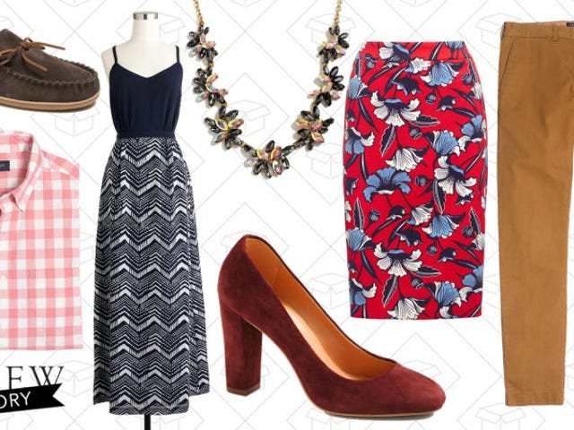 Take an Extra 40% Off All of J.Crew Factory's Clearance Items
