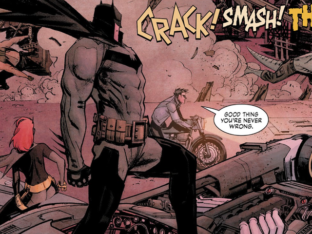 Gotham City Spends a Preposterous Amount of Money Cleaning up Batman's Messes