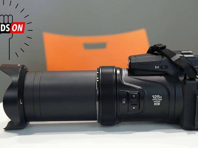 Nikon's New CoolPix P1000 Has a Bananas 125x Zoom Lens