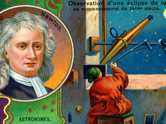 This scientist claimed to have broken Newton's laws of motion