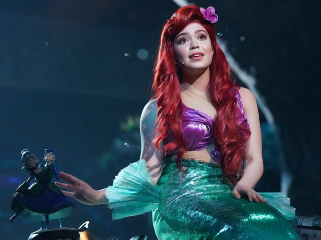 The Little Mermaid Live! is a strange but mostly charming hybrid
