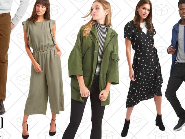 Easily Transition Into Fall With Extra Discounts from GAP
