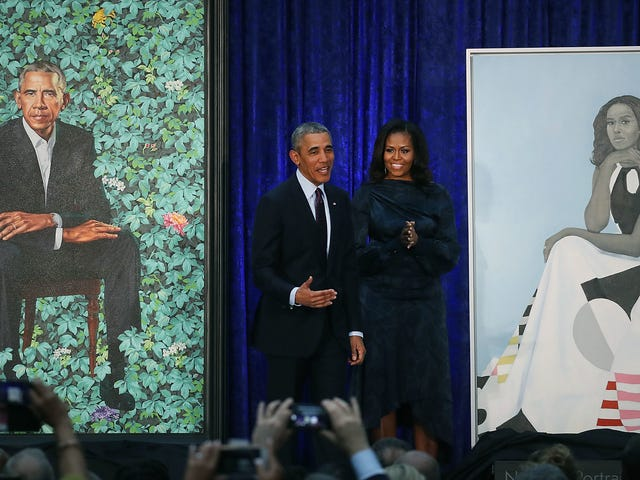 For the Culture: Barack en Michelle Obama's Portraits to Multi-City Tour maken