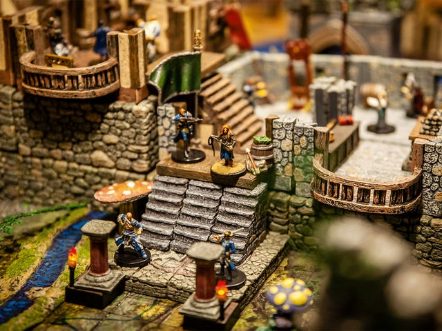 Look At This Beautiful Game Of Pathfinder