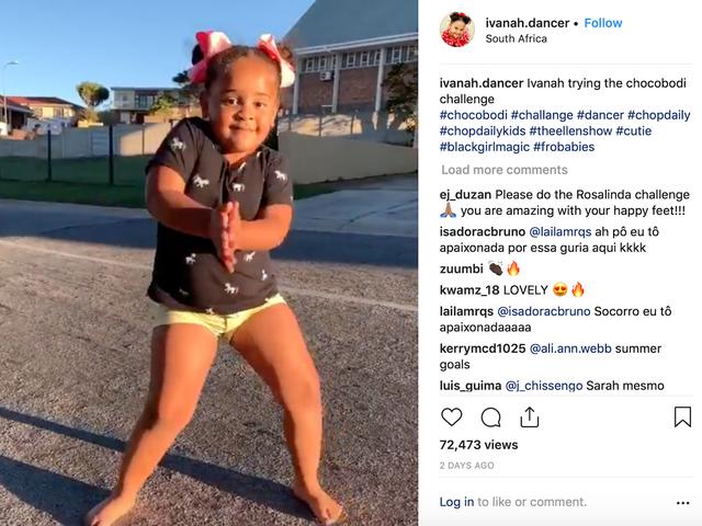 Saturday Night Social: Manifest the Boss Energy di Ivanah, la piccola ballerina