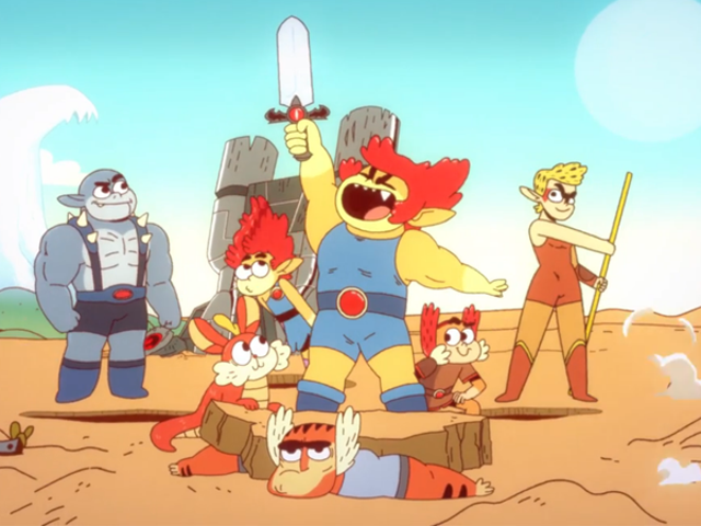 Weird New ThunderCats Cartoon, Ho!