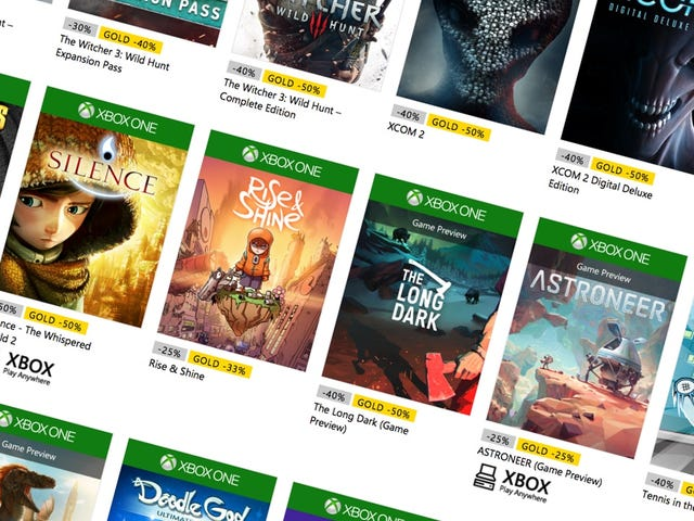 Stuff Your Xbox's Hard Drive During Microsoft's Spring Sale