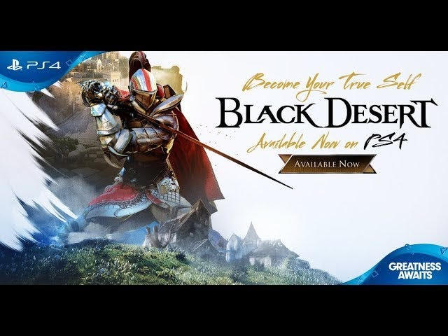 Black Desert, the pretty online role-playing game with the ridiculous character creator, is now live