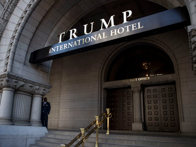 Trump International Hotel in Washington, DC, May Lose Its Liquor License