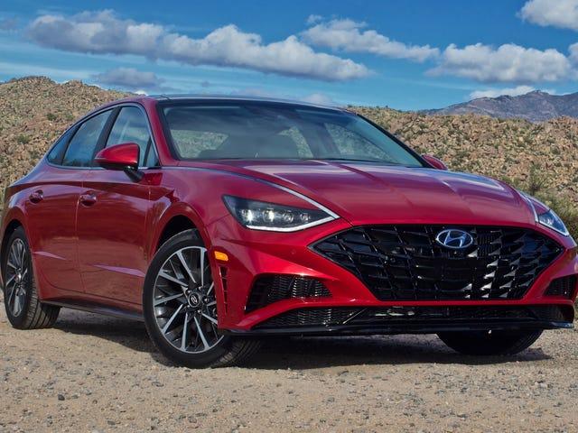 Hyundai offre déjà des rabais de location de 2500 $ sur les sonates 2020