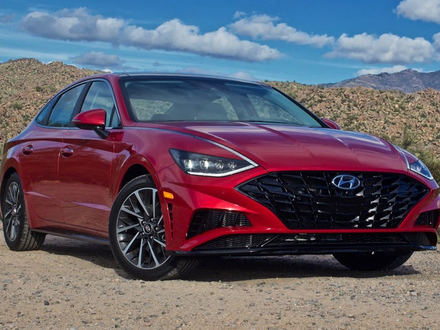 Hyundai Is Already Offering $2,500 Leasing Discounts On 2020 Sonatas