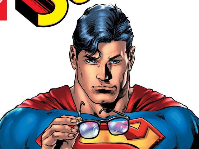 Superman reveals his secret identity to the public in a heartfelt, game-changing issue