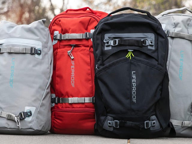 LifeProof's New Backpacks Prove Themselves Worthy of Your Life