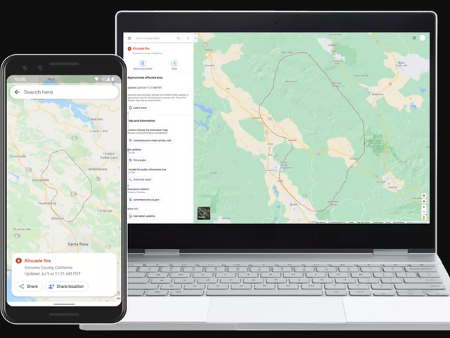 How to Get Real-Time Wildfire Updates From Google