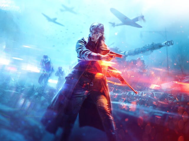 Here's Our First Look At Battlefield V, Which Goes Back To WWII