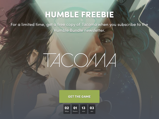 Get Tacoma For Free By Signing Up For an Email Newsletter