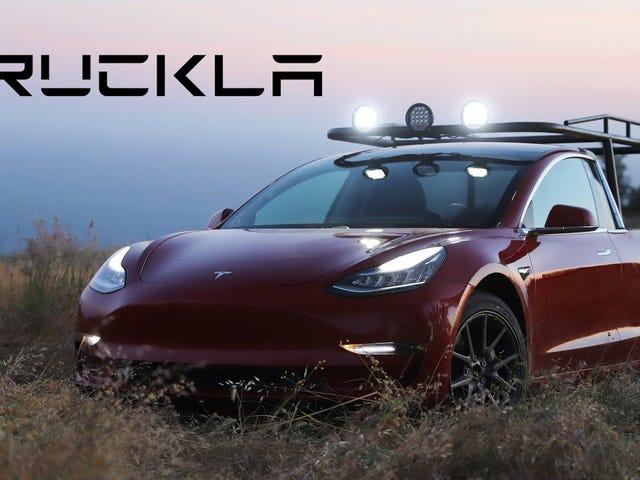 Tesla Model 3 Ute.