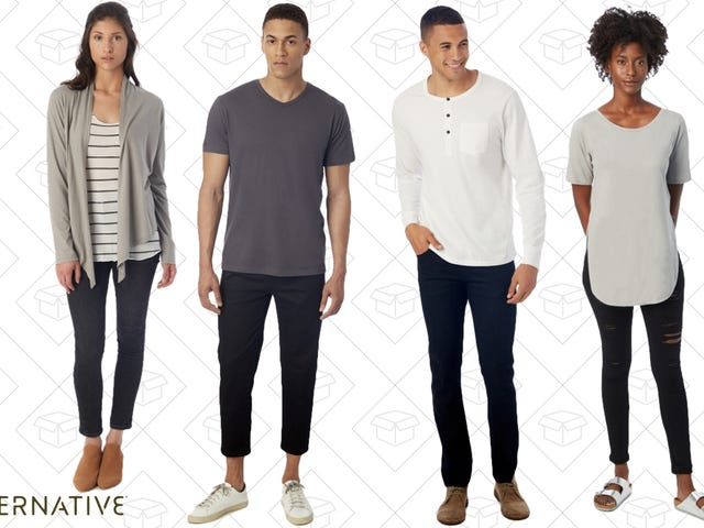 Alternative Apparel Has All The Sustainable Basics You Could Need For 30% Off
