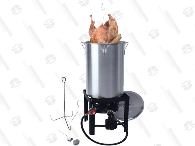 With This $40 Turkey Fryer, You Can Cook Like the Cool Kids