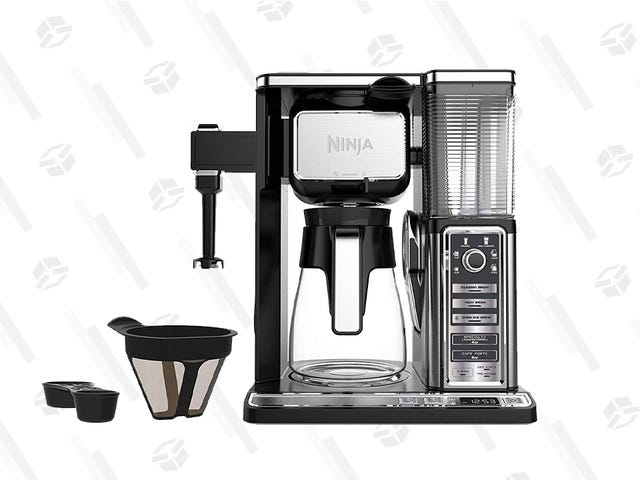 Ninja's Fool Proof Coffee System er bare 50 dollar, bare i dag