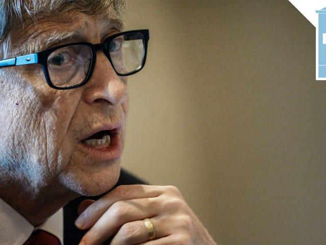 Elizabeth Warren Should Make Bill Gates Cry Next