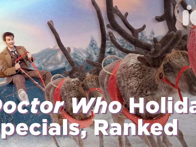 <i>Doctor Who</i> joulun tarjoukset, sijoittuvat juhlaansa