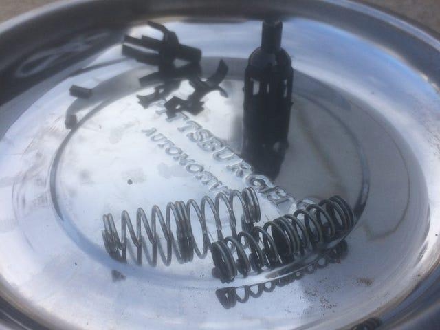 2012 Dodge Grand Caravan oil filter bypass valve, spontaneous failure