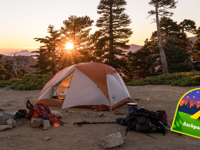 The Best First Timer's Backpacking Kit